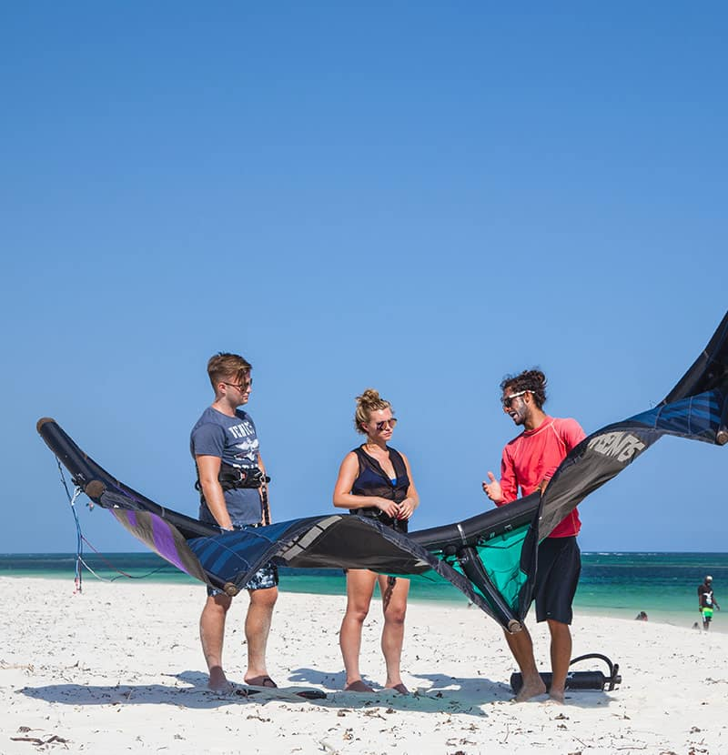Tribe Watersports - Watamu Kenya - Kitesurfing - Wakeboarding - Stand Up Paddleboarding - Kitesurfing - 2to1