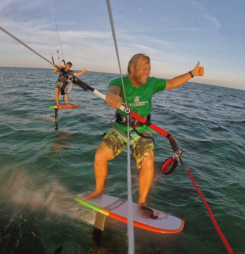 Tribe Watersports - Watamu Kenya - Kitesurfing - Wakeboarding - Stand Up Paddleboarding - Kitesurfing - foiling