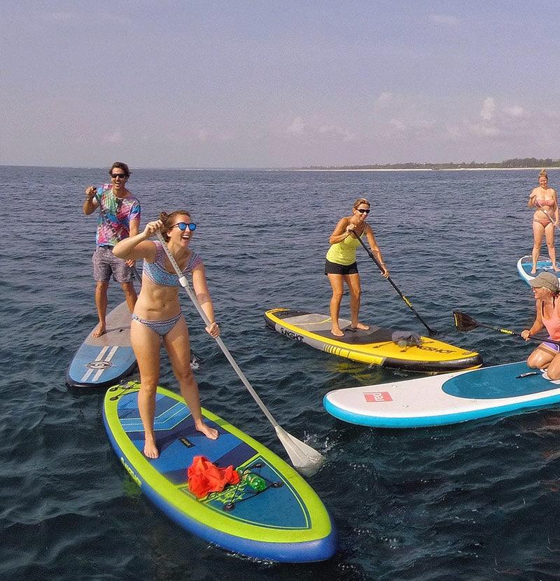 Tribe Watersports - Watamu Kenya - Kitesurfing - Wakeboarding - Stand Up Paddleboarding - Stand Up Paddle Boarding - sup 1